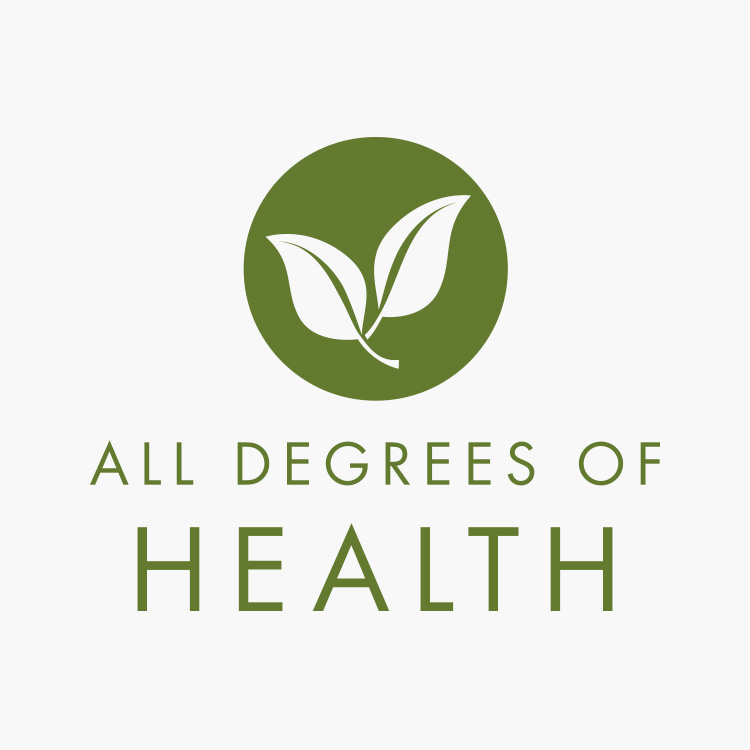 All Degrees of Health Logo Design