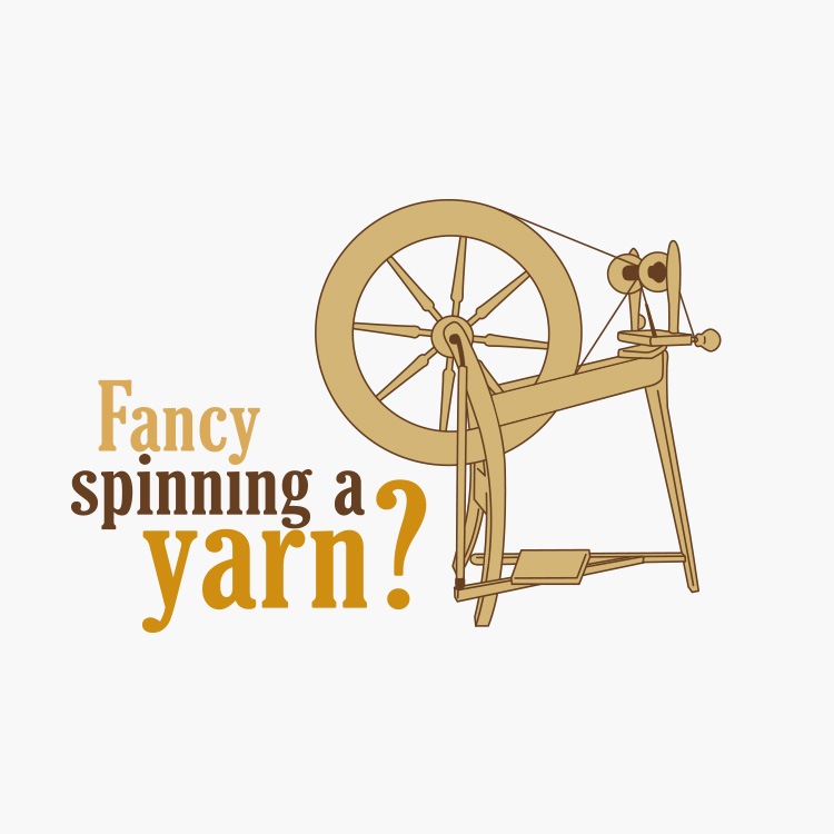 Fancy Spinning a Yarn Logo Design