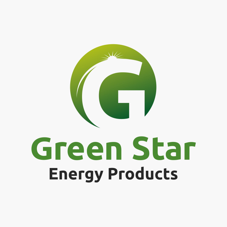 Green Star Energy Products Logo Design