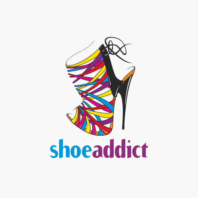 Shoe Addict Logo Design